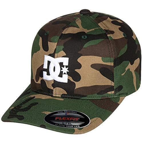 DC Shoes Herren Cap Star 2 - Mütze für Männer Kappe, camo, S/M