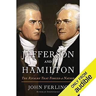 Jefferson and Hamilton audiobook cover art