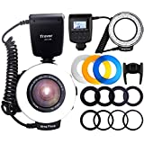 Best Ring Light For Canon 7ds - Travor 48 Macro LED Ring Flash Light Bundle Review