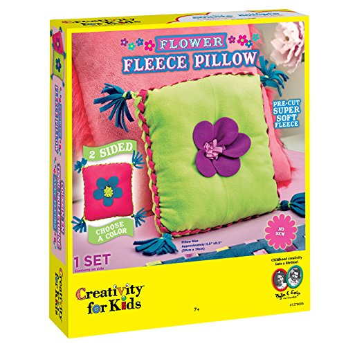 Creativity for Kids - CFK1278 - Oreiller Polaire Fleurie