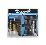 Kit de Acessórios para Furadeira e Parafusadeira com 52 Peças, Gamma Ferramentas G19514AC, Gamma Ferramentas, G19514AC