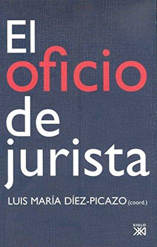 El oficio de jurista (Criminologia Y Derecho)