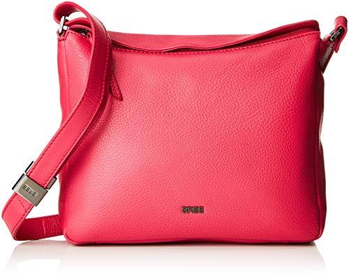 BREE Collection Damen Lia 1, Jazzy, Cross Shoulder S S19 Umhängetasche Pink (Jazzy)