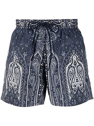 Etro Luxury Fashion Herren 1B35040680201 Blau Andere Materialien Badeboxer   Ss21
