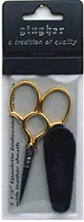 Gingher Epaulette 3-1/2 Inch Embroidery Scissors
