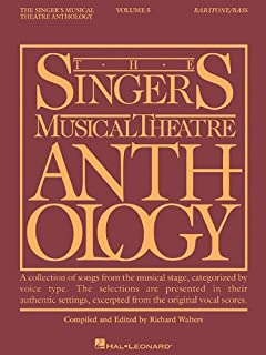 Singer's Musical Theatre Anthology - Volume 5: Baritone/Bass Book