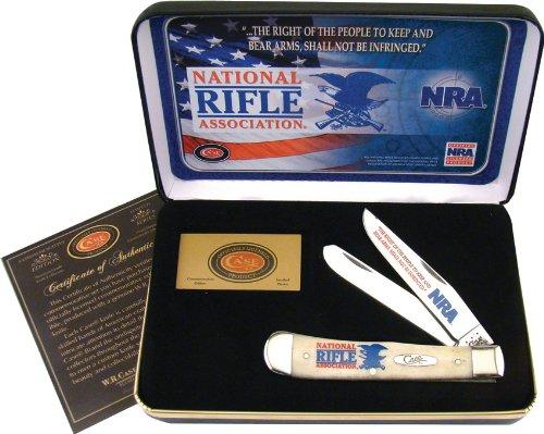 CaseXX Cutlery Frost NRA Trapper Coffret Cadeau Couteau de Poche Longueur fermé 10,48 cm