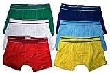 6er Pack Kids Jungen Boxershorts Unterhosen uni Gr. 92 - 164 Neu (140 - 146)