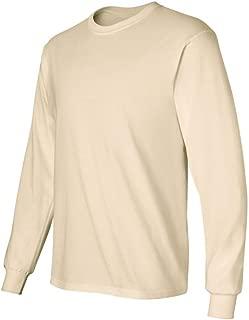 Ultra Cotton 6 oz. Long-Sleeve T-Shirt (G240) NATURAL