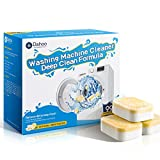Dahoo Washing Machine Cleaner , 24 Tablets /16.92 Ounce - Deep Cleaning Formula Tablets for Front and Top Loader Washer Machines
