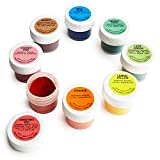 Powdered Food Coloring Kit - Set of 8 - Includes a List of Pro Uses by Cakegirls