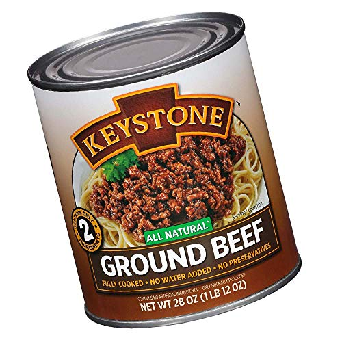 Keystone Meats All Natural Ground Beef, 28 Ounce (New Version)