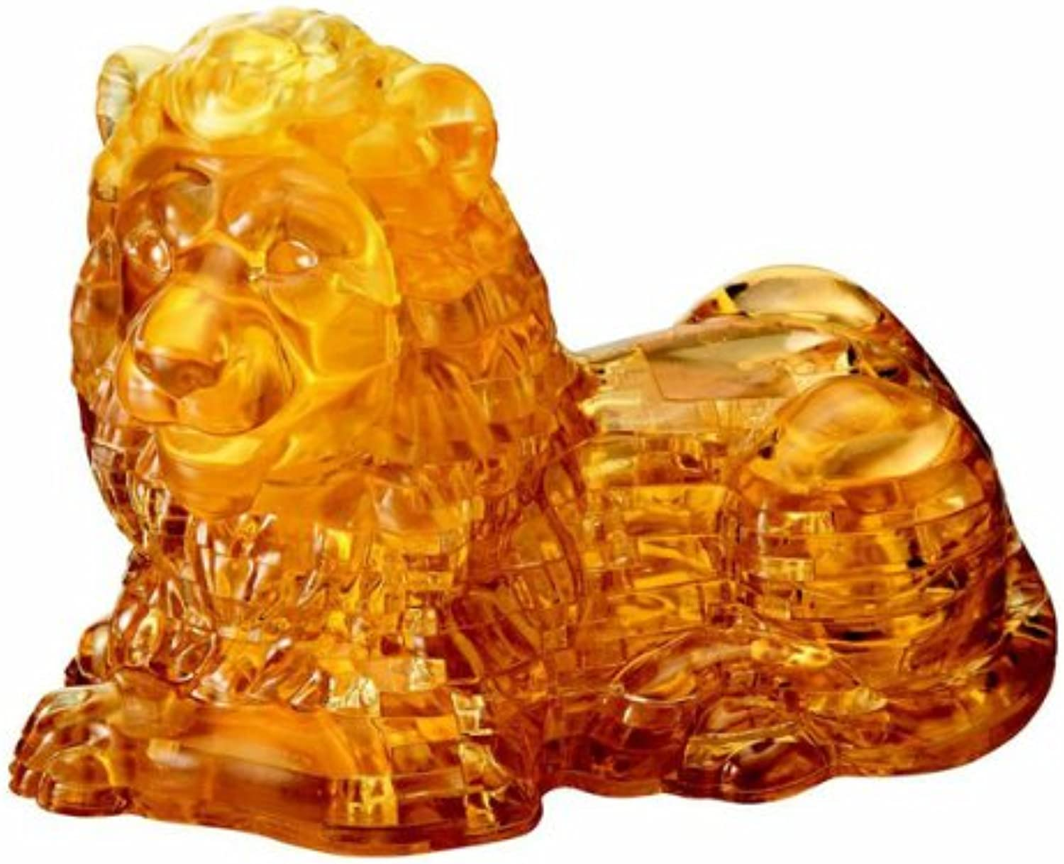 3D Crystal Puzzle  Lion  96 Pcs