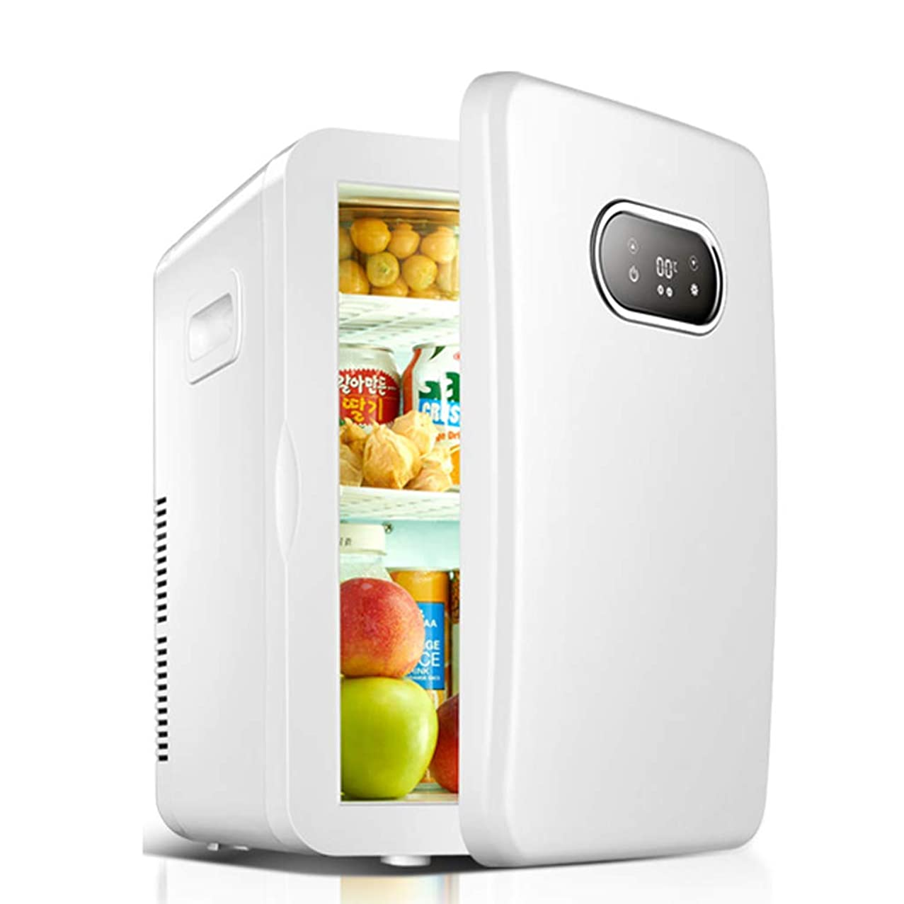 Portable refrigerator Lxn Digital Display Version Electric Cooler and Warmer for Car and Home - 20 Liter – Holds 30 Cans - Dual 110V/220V AC House and 12V DC Vehicle Plugs