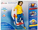 Baby Potty Training Seat Toddler Child Toilet Trainer with Step Stool Ladder, Anti-Slip