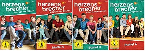 Herzensbrecher - Vater von vier Söhnen Staffel 1-4 (1+2+3+4) / DVD Set