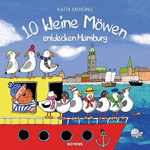 Cover des Mediums: 10 kleine Möwen entdecken Hamburg