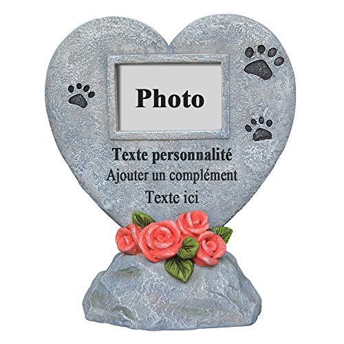 PETAFLOP Cadre Animal Souvenir Plaque Funéraire avec...