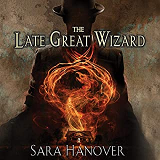 The Late Great Wizard audiobook cover art