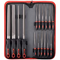 Hi-Spec 16-Piece Carbon-Steel Hand & Needle File Tool Set