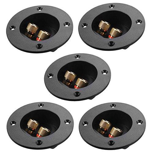 Foxnovo 5pcs auto hogar bricolaje caja de altavoces de 2 vías estéreo...