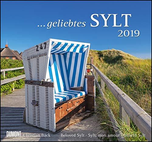 Geliebtes Sylt 2019 - DuMont Wandkalender - mit den wichtigsten Feiertagen - Format 38,0 x 35,5 cm