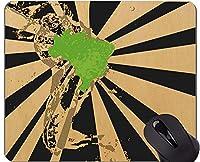 ロックエッジ付きマウスパッド、ブラジルオフィスマウスパッドマウスパッドUS0010