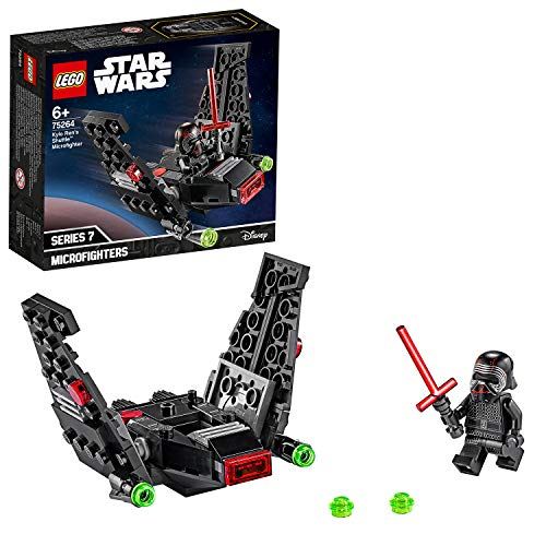 LEGO Star Wars - Microfighter: Lanzadera de Kylo Ren, Set de