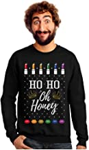 Drag Queen Ho Ho Oh Honey Ugly Christmas Trans LGBT Outfit Pride Sweatshirt