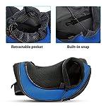 PETEMOO Pet Sling Carrier Bag, Hand-Free Dog Cat Outdoor Travel Shoulder Bag with Adjustable Strap& Zipper 14