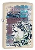 Zippo 60.002.308Briquet Kurt Cobain Collection Spring 2016, crème Tapis