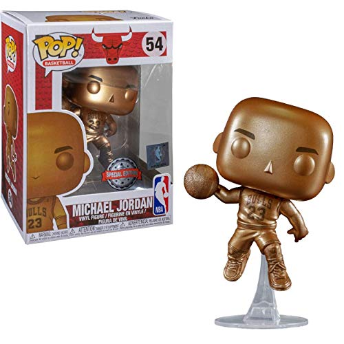 pop NBA Bronzefarbener Michael Jordan