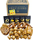 Eastern Standard Provisions: All You Knead Is Love Gift Box - Freshly Baked Handcrafted Premium Artisanal Soft Pretzel Snacks - 1 Variety Pack with 5 Gourmet Salt Packs