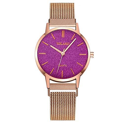 Sleek Minimalist Calendar Stainless Steel Mesh Belt Men's Quartz Watch Watches for Women Simple Under 5 Best Gifts for Lovers