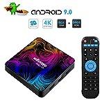 Winnovo 4K Android 9.0 TV Box, Magic 5th Ultra HD 4GB RAM 64GB ROM Smart TV Streaming Player ARM 64...