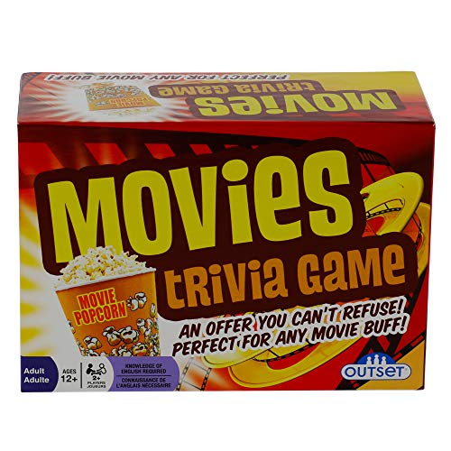 Movies Trivia Game  Fun Cinema Question Based Game Featuring 1200 Trivia Questions  Ages 12