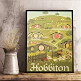 yhnjikl Herr Der Ringe Reise Poster Der Hobbit Wand