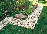 Holzweg für die Gartenterrasse verbunden mit einem Gitter   Abmessungen 80x40cm (0,32 m2)