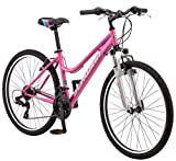 Schwinn High Timber Youth/Adult Mountain Bike, Steel Frame, 26-Inch...