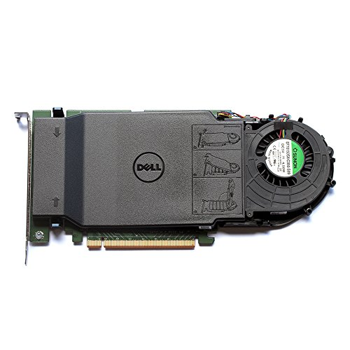 Dell Ultra-Speed Drive Quad NVMe M.2 PCIe x16 Card (1TB - 4x256GB)