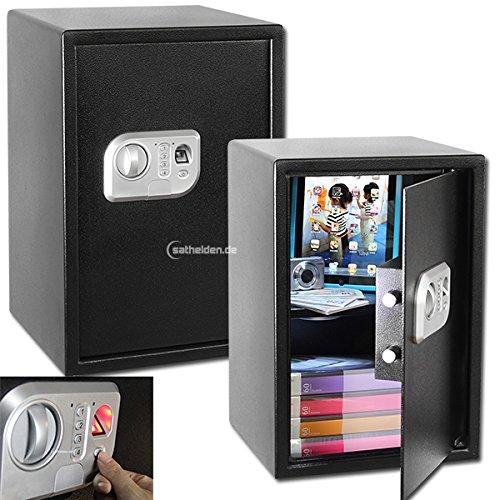 MT Vision ST-50 FP Safe Fingerprint Fingerabdruck Tresor für Wand o. Boden