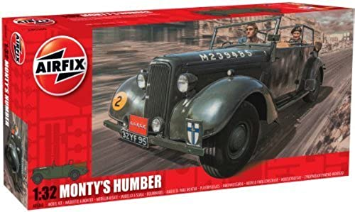 seguro de calidad Airfix Monty's Humber Snipe Staff Car Building Kit, 1 1 1 32 Scale by Hornby  ventas calientes