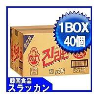 ジンラーメン(辛口)1BOX(120gX40個) [並行輸入品]