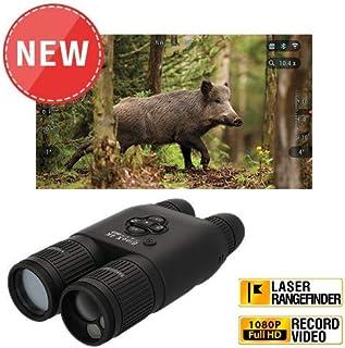 theOpticGuru ATN BinoX 4K 4-16X Smart Day/Night Binoculars with Laser Range Finder, Full HD Video rec, WiFi, Smooth Zoom and Smartphone Controlling Thru iOS or Android Apps