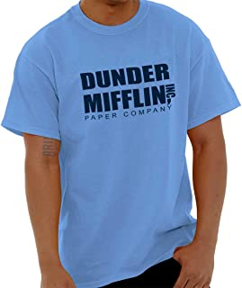 Dunder Paper Company Mifflin Office TV Show T Shirt Tee