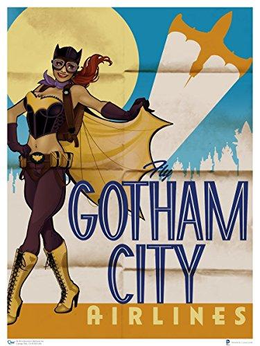Animewild DC Bombshells Batgirl Art Print Poster