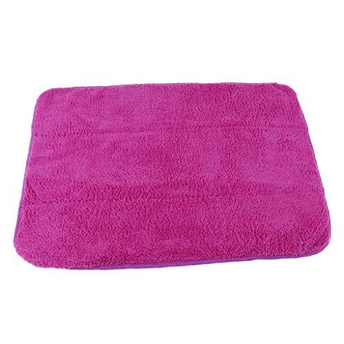 Baoblaze Eiskunstlauf Zubehör Schlittschuhe Tuch Handtücher Reinigungstuch zum Putzen und Reinigen - Lila