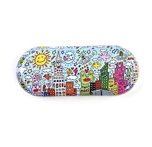 Fridolin Brillenetui Rizzi-My New York City aus Metall, bunt, 16x6.6x2.8 cm