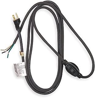 Power Cord, 5-15P, Sjo, 8 Ft, Blk, 10A, 16/3