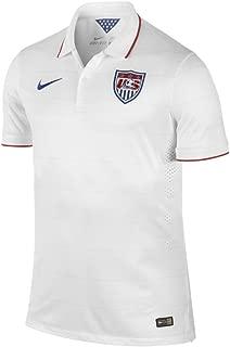 Nike USA Home Match Jersey World Cup 2014 [Football White] (S)